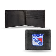 Rico Industries New York Rangers Men's Bi-fold Wallet
