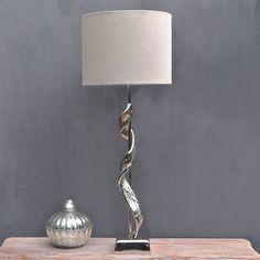 riva table lamp and shade by primrose & plum   notonthehighstreet.com