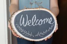 Create A Charming Rustic Chalkboard With This Easy-to-make Tutorial
