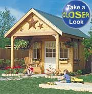 Playhouse Shed Plan Plans DIY Free Download Oak Spindles ... | Playhouse |  Pinterest | Playhouses, Storage And Storage Buildings