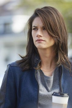 Love this medium hair length & my favorite person Andy McNally aka missy peregrym