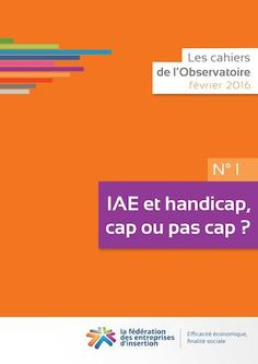 Cahier N°1 de L'Observatoire - IAE et Handicap