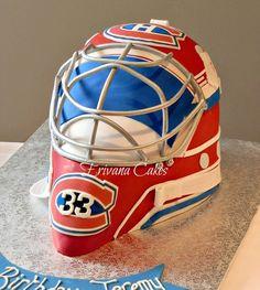 Photo 1 of 4 Hockey Birthday Cake, Hockey Birthday Parties, Hockey Party, Twin Birthday, Birthday Party Themes, Birthday Ideas, Hockey Cakes, Hockey Goalie, Ice Hockey
