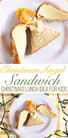 Christmas Angel Sandwich