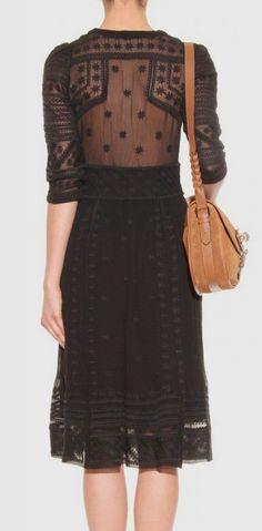 Lace, black, dress, womens fashion, Vaunte
