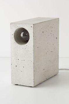Concrete Lamp.: