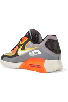 Nike - Air Max 90 Ultra 2.0 Si Textured-knit Sneakers - Gray - US9.5