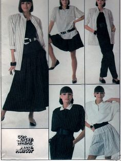 Simplicity 8565 Sewing Misses Pattern Career/Then Party Attire For Sale by Fabpatterns1015