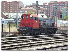 Estación Valladolid Campo Grande. ADIF.  Tractor de maniobras 310 ADIF.