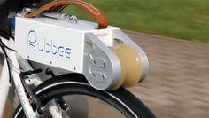 REVISTA BICICLETA - Rubbee: Acessório portátil que transforma uma bike comum em uma bike elétrica.