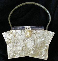 Lucite star purse