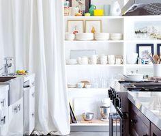 Hidden Kitchen Storage Ideas | Stylist: Emily Norris | Photographer: Ashley Capp | #kitchendesign #smallspace #storage