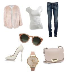 """""""👠👠👠"""" by emilyrose108 on Polyvore featuring ZAC Zac Posen, Dsquared2, Sans Souci, RoÃ¿ Roger's, GANT, Olivia Burton and Wet Seal"""