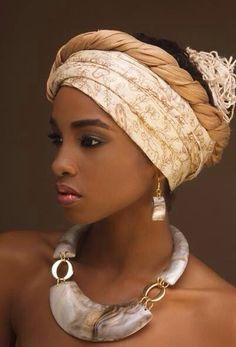 African Women in Hijab Styles - Womenitems. African Beauty, African Women, African Fashion, Nigerian Fashion, Ghanaian Fashion, African Style, Ankara Fashion, Hijab Mode, High Fashion Makeup
