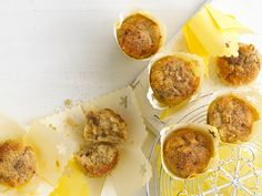 These are fun to make together with your little one. The grated apple keeps the muffins lovely and moist. To freeze interleave with greaseproof paper and store in a plastic freezer box.