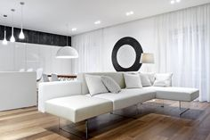 Air Sofa by LAGO   Project by M12 architettura design #home #livingroom #lagodesign