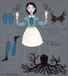 Insects and Oddities http://insectsandoddities.blogspot.de/2010/11/paper-dolls-anyone.html