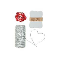 Red Mushroom Gift Wrap Kit