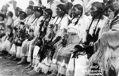 Comanche and Kiowa women - no date