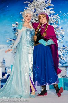 Anna & Elsa - Frozen, best face characters for them that I've seen so far