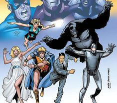 The group was formed in Spring 1958 by Federal Bureau of Investigation agent Jimmy Woo to rescue President Dwight D. Eisenhower from the villainous Yellow Claw. Woo first recruits Venus and Marvel Boy. He then tries to recruit Namora, who declines but tells Woo where to find a broken but potentially useful robot named M-11. While Marvel Boy fixes M-11, Woo asks Jann of the Jungle to take Marvel Boy to extend an invitation to Gorilla-Man, who accepts Woo's offer.