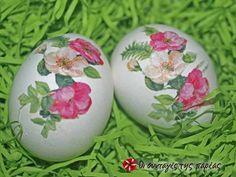 Πασχαλινά αυγά με την τεχνική του decoupage φωτογραφία βήματος 6 Diy Ostern, Decoupage, Easter Crafts, Easter Eggs, Upcycle, Food And Drink, Handmade, Design, Decor