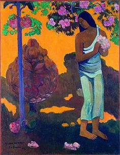 orange/purple gauguin
