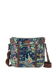 Smaller in size but roomy enough to fit everything you need from day to night, we love the small crossbody. Choose your favorite print!