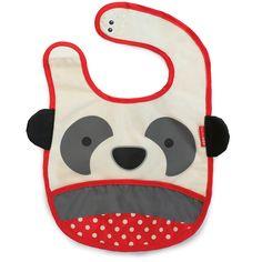 Skip Hop Zoo Bibs tuck-away bibs