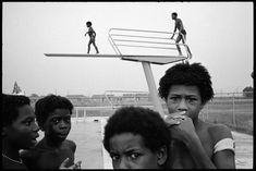 Alex Webb, USA. Mississippi. Mound Bayou. 1976. At the community swimming pool.