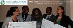 2 African Students created Anti-Malaria Soap using local herbs & won a $25,000 Award.