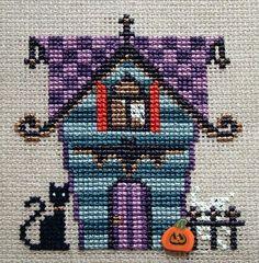 Spooky Stitchers SAL: Haunted Hideaway on 13th Avenue