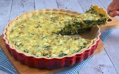 Spinazie feta quiche - Laura's Bakery