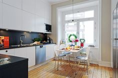 delightful modern kitchen