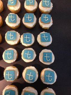 Twitter cupcakes for our workshop