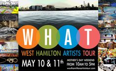 The West Hamilton Artists Tour features an amazing collection of 20 artists in 10 studios in the Kirkendall Neighborhood!     Saturday, May 10th and Sunday, May 11th, 2014 from 10am-5pm     For the 5th year, the West Hamilton Artists Tour (WHAT) will be featuring a diverse and exciting group of local and regional artists displaying their work in several locations around the Locke Street South / Kirdendall Neighborhood.