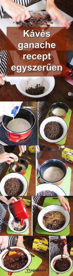 Készíts el egyszerűen egy finom kávés ganache-t Mousse, Breakfast, Food, Morning Coffee, Essen, Meals, Yemek, Eten