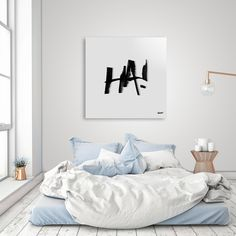 Discover «ha», Limited Edition Acrylic Glass Print by Kirsty McCusker - From $99 - Curioos