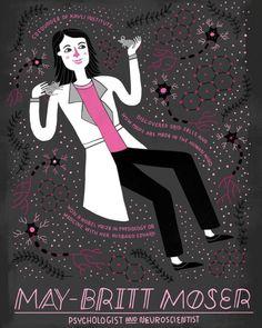 La neurocientífica y psicóloga May-Britt Moser (1963-)  nació un 4 de enero