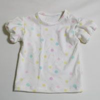 Hart Patroon gratis te downloaden (babykleertjes bladerdeeg mouw T-shirt) - Handgemaakte (Handwerk & Gourmet Nieuwe Moeder)