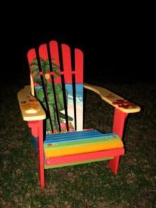 Hand Painted Adirondack Chairs On Sale Now!