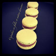 Macarons chocolat et citron frappé