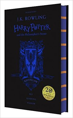 Harry Potter and the Philosopher's Stone - Ravenclaw Edition: J.K. Rowling: 9781408883785: Books - Amazon.ca