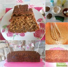Receta de bizcocho integral de calabacín a la vainilla - La Cocina Alternativa