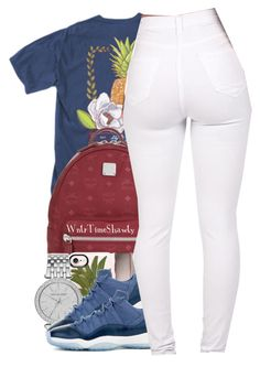 """""""Untitled #886"""" by wntrtimeshawty ❤ liked on Polyvore featuring MCM, Casetify and Michael Kors"""