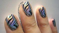 hologram zebra .