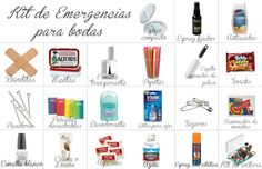 KIT DE EMERGENCIA PAA BODAS ;)