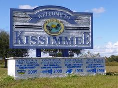 Welcome To Kissimmee - Florida, USA.