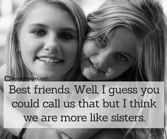 Best friend quotes and sayings, friendship is one of the most beautiful thing in life, so we share the best friendship quotes for you! Cute Best Friend Quotes, My Best Friend, Friend Sayings, True Quotes About Life, Life Quotes, Short Girl, Life Thoughts, True Friends, Close Friends