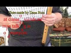 Hallelujah Part 1 How to Play on a Native American Flute